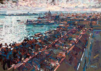 Arthur K. Maderson, Above Venice at Morgan O'Driscoll Art Auctions