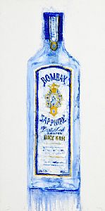 Neil Shawcross, Bombay Sapphire (2014) at Morgan O'Driscoll Art Auctions