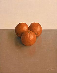Comhghall Casey, Trio of Oranges (2006) at Morgan O'Driscoll Art Auctions