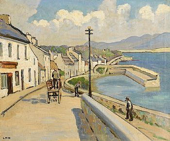 Letitia Marion Hamilton, Roundstone Harbour, Connemara at Morgan O'Driscoll Art Auctions