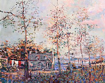 Arthur K. Maderson, September Evening towards Pic Saint-Loup, France at Morgan O'Driscoll Art Auctions