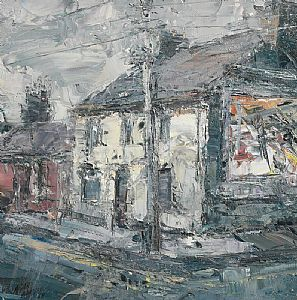 Dublin Street Scene (2009) at Morgan O'Driscoll Art Auctions
