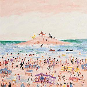 Simeon Stafford, Donkeys by the Sea at Morgan O'Driscoll Art Auctions