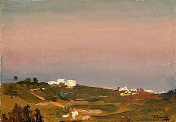 Sir John Lavery, Nightfall, Tangier (1912) at Morgan O'Driscoll Art Auctions