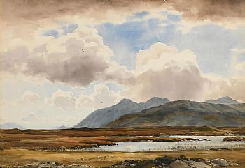 Frank J. Egginton, The Twelve Pins, Connemara at Morgan O'Driscoll Art Auctions