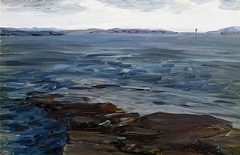 Jack Butler Yeats, Spring Tide, Schull (1919) at Morgan O'Driscoll Art Auctions