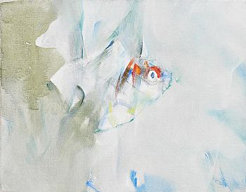 Louis Le Brocquy, Goldfish (508), (1984) at Morgan O'Driscoll Art Auctions
