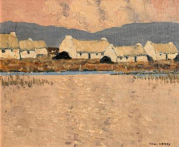 Paul Henry, Cottages (1930-1935) at Morgan O'Driscoll Art Auctions