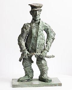 John Behan, Inishbofin Boatman at Morgan O'Driscoll Art Auctions