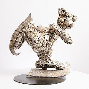 Patrick O'Reilly, Skating Bear (2008) at Morgan O'Driscoll Art Auctions