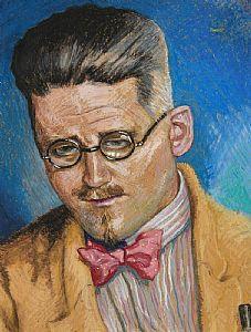 Harry Aaron Kernoff, Study of James Joyce at Morgan O'Driscoll Art Auctions