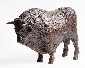 Anthony Scott, Bull at Morgan O'Driscoll Art Auctions