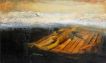 Hughie O'Donoghue, Raft (2007) at Morgan O'Driscoll Art Auctions