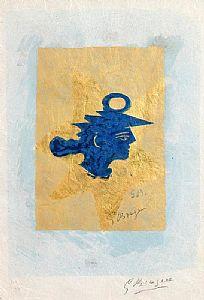 Georges Braque, Tete Grecque (c.1959/60) at Morgan O'Driscoll Art Auctions