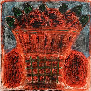Neil Shawcross, Still Life - Basket of Fruit (1992) at Morgan O'Driscoll Art Auctions
