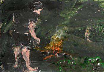 Sven Kroner, Camp Fire (1998) at Morgan O'Driscoll Art Auctions