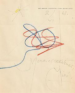 Joan Miro, Untitled (1963) at Morgan O'Driscoll Art Auctions