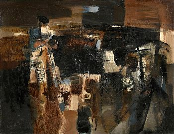 George Campbell, The Turf Cutters at Morgan O'Driscoll Art Auctions