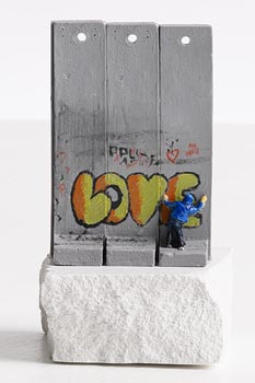 Banksy, Wall Souvenir at Morgan O'Driscoll Art Auctions