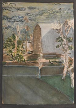 Brian Bourke, Landscape (1968) (No.15) at Morgan O'Driscoll Art Auctions