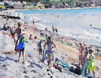 Stephen Cullen, Glenbeigh Beach at Morgan O'Driscoll Art Auctions