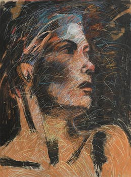 Noel Murphy, Annette at Morgan O'Driscoll Art Auctions