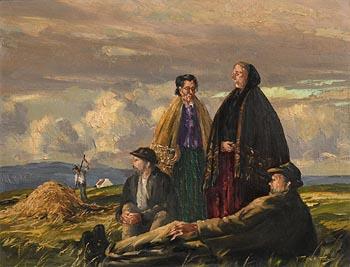 Arthur H. Twells, Harvester's Break at Morgan O'Driscoll Art Auctions