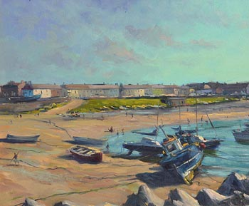 Norman Teeling, Greystones Beach at Morgan O'Driscoll Art Auctions