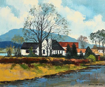 Denis Orme Shaw, The Mournes at Morgan O'Driscoll Art Auctions