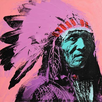 Jurgen Kuhl, Indian Chief 1987 at Morgan O'Driscoll Art Auctions