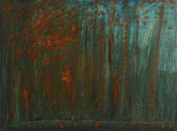 Sean McSweeney, Trees Lissadell, Co Sligo (1998) at Morgan O'Driscoll Art Auctions