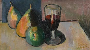 Peter Collis, Still Life and Wine at Morgan O'Driscoll Art Auctions