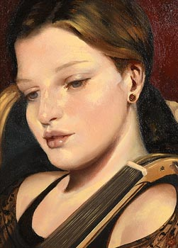 Ken Hamilton, Young Musician at Morgan O'Driscoll Art Auctions