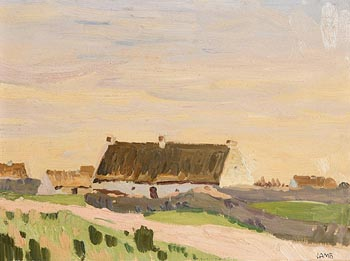 Charles Vincent Lamb, Connemara Cottages at Morgan O'Driscoll Art Auctions