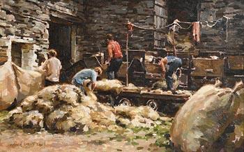 Mark O'Neill, Wool (2003) at Morgan O'Driscoll Art Auctions