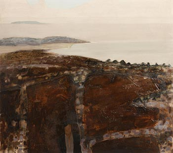 Arthur Armstrong, Rocky Landscape (1968) at Morgan O'Driscoll Art Auctions