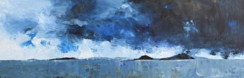 Peter Monaghan, Across the Bay, Dangerous Seas at Morgan O'Driscoll Art Auctions
