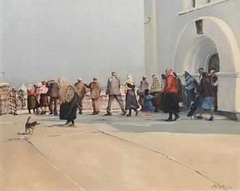 Cecil Maguire, Inishmaan, Aran (1983) at Morgan O'Driscoll Art Auctions