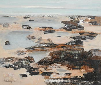 George Campbell, Achill Sound at Morgan O'Driscoll Art Auctions