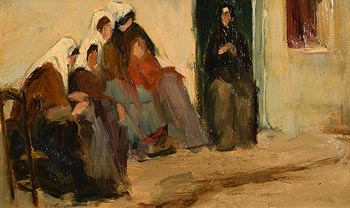 Samuel Connolly Taylor, Breton Women at Morgan O'Driscoll Art Auctions