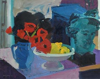 Brian Ballard, Still Life on Tabletop (1995) at Morgan O'Driscoll Art Auctions