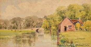 Mildred Anne Butler, By River Nore near Kilmurry at Morgan O'Driscoll Art Auctions