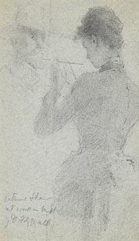 John Butler Yeats, Katherine Shaw at Morgan O'Driscoll Art Auctions
