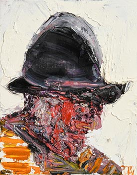 John Brian Vallely, Helmeted Head I at Morgan O'Driscoll Art Auctions