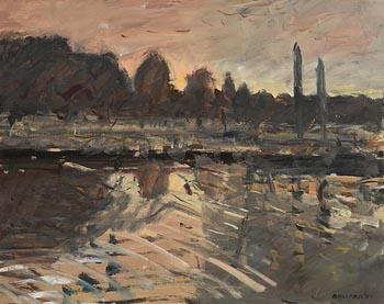Brian Ballard, Sunrise (1985) at Morgan O'Driscoll Art Auctions