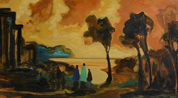 Markey Robinson, Family Across the Sea at Morgan O'Driscoll Art Auctions