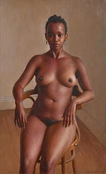 Harry Holland, Seated Nude, 2007 at Morgan O'Driscoll Art Auctions