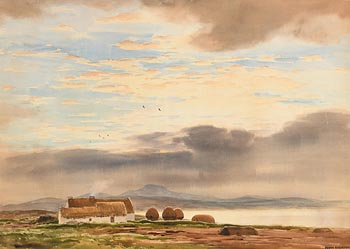 Frank Egginton, Early Morning Near Belmullet, Co. Clare at Morgan O'Driscoll Art Auctions