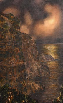 Tim Goulding, The Headland II (1988) at Morgan O'Driscoll Art Auctions