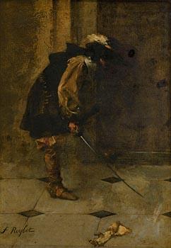 Ferdinand Roybet, Le Griet-Apens at Morgan O'Driscoll Art Auctions